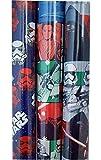 Star Wars Force weckt Geschenkpapier 3Rollen sortiert Storm Troopers, Kylo REN, mutli-character