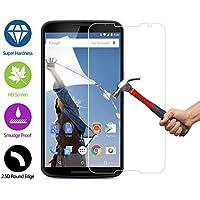Ultra® Premium chiaro temperato vetro Screen protector per Nexus di Google 6 0,25 ml 9 h durezza cellulare giapponese Asashi Oleophobic Lyophobic temperato vetro screen protector