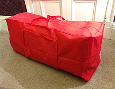 Red Artificial Christmas Tree Storage Bag