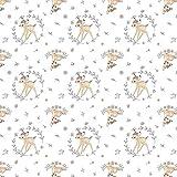 Springs Creative Bambi-Stoff, Bambi-Stoff, 0,5 m, 100%