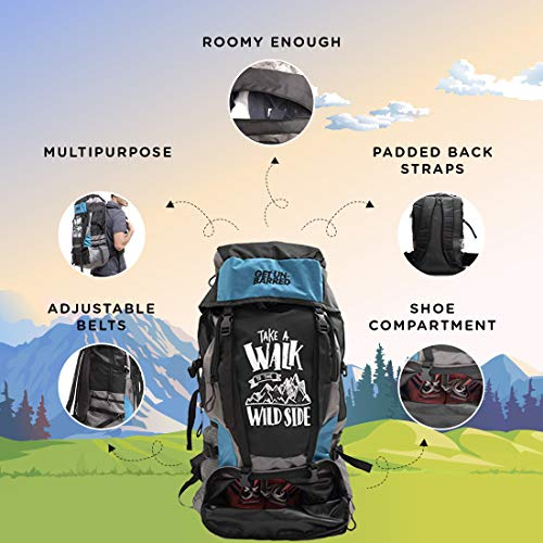 e2016fc31ab 33% OFF on Mufubu Presents Get Unbarred 55 LTR Rucksack for ...
