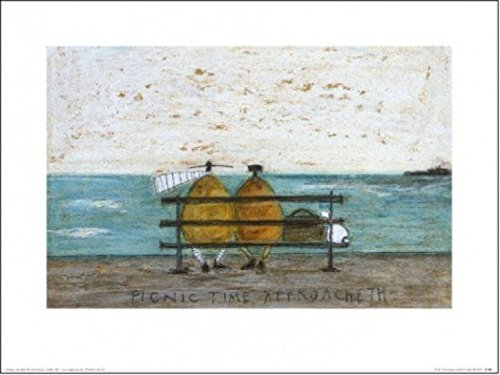 sam-toft-mr-and-mrs-mustard-picnic-time-approacheth-poster-impresion-artistica-40-x-30cm