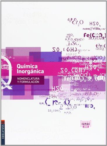 Química Inorgánica (Nomenclatura y Formulación)