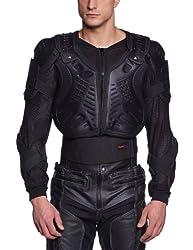 Protectwear WPJ-301-XL Protektorenjacke Protektorenhemd, Größe : XL, Schwarz