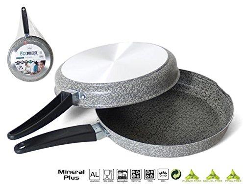 Sarten Tortillera Eco Aluminio 24cm