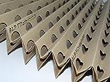 SONDERPREIS Sepapaint - 2 Stück 10 x 1 m Farbnebel Vorfilter Faltkarton Filter für Lackierung Lackierkabine Farbnebelfilter, Spritzwandfilter, Absaugwandfilter Lackierkabinenfilter Sprühbox Airbrush Farbe Lack Grundierung Rostschutz