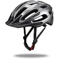 Unisex Adultos bicicleta casco, casco Mountain Bike Bicicleta Casco para todos los Hombre Mujer Ciclista, azul