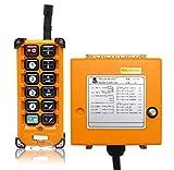 NEWTRY F23-A++único emisor/transmisor eléctrico de grúa de riego control remoto inalámbrico 100 m distancia de control