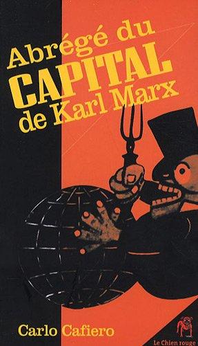 Abrege du Capital de Karl Marx par Carlo Cafiero