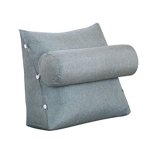 ZWL Coussin créatif, oreiller de canapé oreiller de cou Grand coussin de chevet dossier de chaise de bureau Coussin oreiller de lit Protection du cou taille dossier 45 * 45 * 20 cm mode z ( taille : 45*45*20cm )