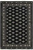 Nain Trading Pakistan Buchara 3ply 241x166 Orientteppich Teppich Dunkelgrau/Dunkelbraun Handgeknüpft Pakistan