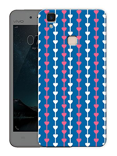 "Humor Gang heart string Printed Designer Mobile Back Cover For ""Vivo V3"" (3D, Matte Finish, Premium Quality, Protective Snap On Slim Hard Phone Case, Multi Color)"