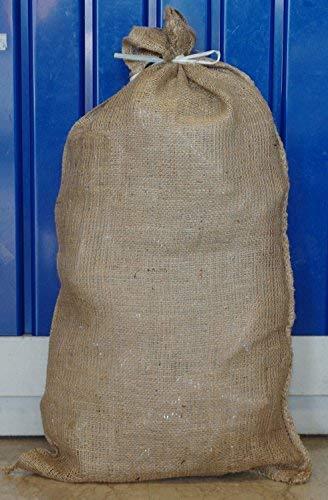 Lot de 6 sacs de jute 84 x 46 cm