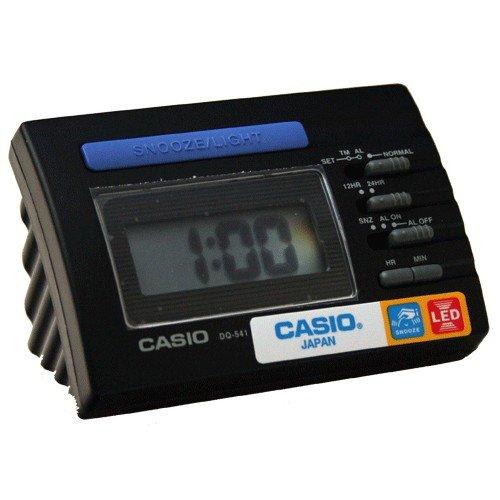 CASIO 10422 DQ-541-1R - Reloj Despertador digital negro