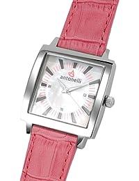 ANTONELLI 960011 - Reloj de Señora movimiento de cuarzo con correa de piel