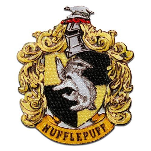 Harry Potter © Escudo armas Hufflepuff - Parches