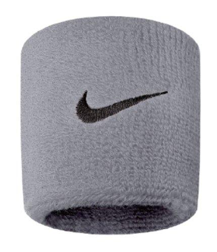 Nike Swoosh Wristbands grey heather/black -
