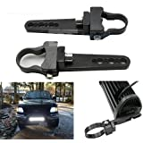 2 Inch Tubo Bull Bar/Roll Bar Mount Soporte Abrazaderas para Off Road LED barra de luz