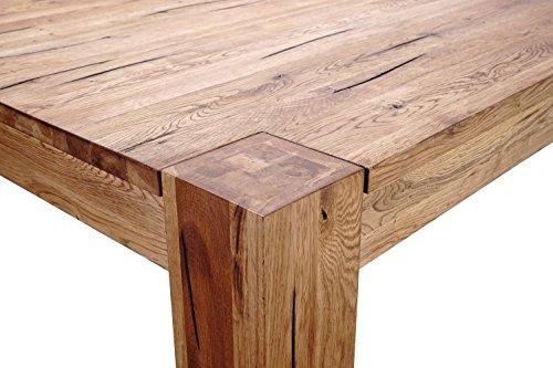 Il mio mobili in rovere - T200 trave/tavolo da pranzo in legno ...