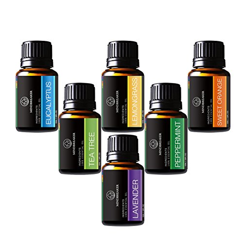 Aceite-esencial-aromaterapia-Set-incluye-parte-superior-6-Set-de-regalo-lavanda-Naranja-Dulce-menta-rbol-de-t-citronela-eucalyptus-100-Pure