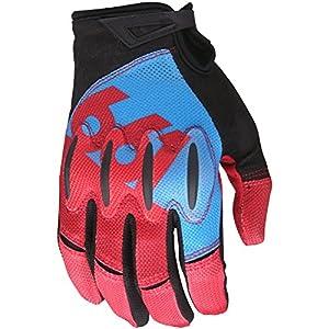 SixSixOne Bike-Handschuhe Evo II Blau/Rot