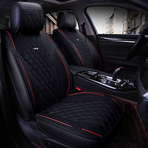 Walking Tiger - Coprisedili auto per Stelvio Giulia Giulietta 156 159 Mito ciaz Escudo Grand Vitara jimny kizashi Liana s-Cross Swift sx4, colore: nero