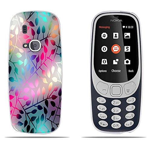 DIKAS Nokia 3310 (2017) Cover, Fantasia 3D Rilievo Fiore Classic Ultra Slim TPU Skin Cover Protettiva Shell Custodia per Nokia 3310 (2017)- PIC: 05