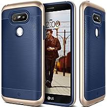 Coque LG G5, Caseology [Série Wavelength] Ultra Mince Protection à double couche résistant aux chocs [Bleu Marine - Navy Blue] Housse Etui Coque pour LG G5 (2016)