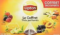 Lipton Variety Pack Thé Parfumés 50 Sachets Coffret Découverte 87 g - Lot de 2