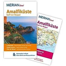 Amalfiküste Golf von Neapel: Mit Kartenatlas im Buch und Extra-Karte zum Herausnehmen (MERIAN live)