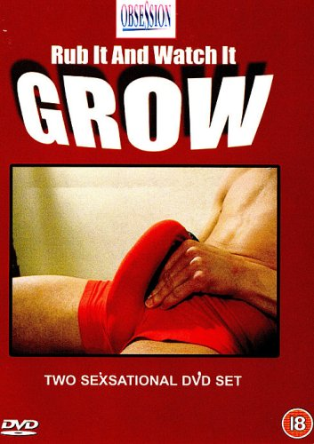 Rub It And Watch It Grow, ( 2 Dvd Gay Adult Set) [DVD] - Gay Adult Dvd