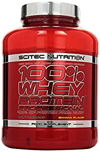 Scitec Nutrition Whey Protein Professional, Banane, 1er Pack (1 x 2350 g)