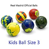 Real Madrid Club de Fútbol Official License 3 Ply PU Material All Surface Kids Football Size 3 Mixed and Colours