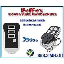 Ersatz sender BELFOX 7834 Kompatibel Handsender 868.3Mhz fixed code Klone