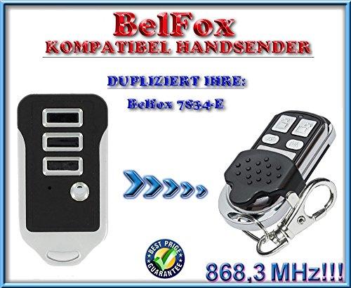 Belfox 7834-E kompatibel handsender, klone fernbedienung, 4-kanal 868.3Mhz fixed code. Top Qualität Kopiergerät!!! - Board Torantriebe Control