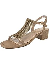 Zapatos Chanclas Amazon Para Mujer Fclk1j 36 Y Espene Sandalias 45LRjA3