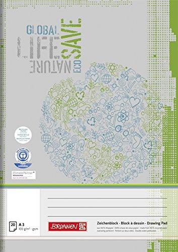 Brunnen 104793501 Zeichenblock (A3 mit 20 Blatt)