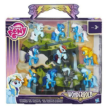 My Little Pony Friendship is Magic Wonderbolts Cloudsdale Mini Collection Exclusive 3 Mini Figure by My Little Pony