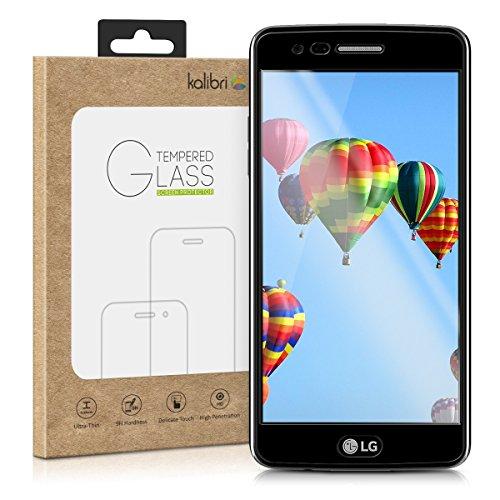 kalibri-Echtglas-Displayschutz-fr-LG-K8-2017-3D-Schutzglas-Full-Cover-Screen-Protector-mit-Rahmen-Glas-Folie-auch-fr-gewlbtes-Display-in-Schwarz