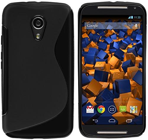 mumbi S-TPU Schutzhülle für Motorola Moto G 2. Generation Hülle