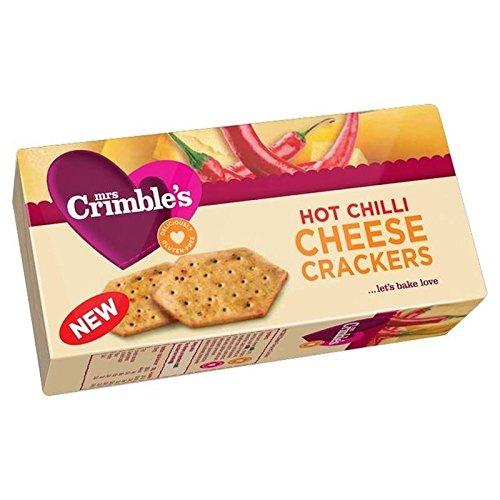Mrs Crimbles Hot Chili Käse-Cracker 130G