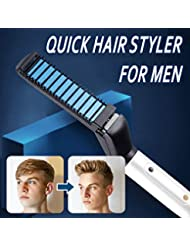 Gaddrt Professioneller schneller Haar-Styler für Männer Multifunktionshaar-Kamm-Lockenstab EU