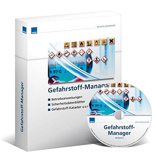 Gefahrstoff-Manager: Betriebsanweisungen - Sicherheitsdatenblätter - Gefahrstoff-Kataster