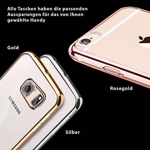 eximmobile Premium-Coque de protection en silicone pour Apple, Samsung