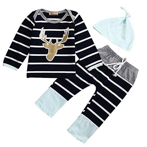 ZEARO Jungen Mädchen Kinder Kleidung Sets Cartoon Minnie Neugeborenen hut Strampler Outfit Bekleidung Set 6 9 12 18 Monthes Test