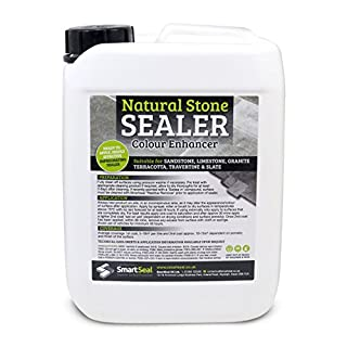 Smartseal Natural Stone Sealer 5L - Colour Enhanced Finish – High Quality, impregnating, Durable Sealer for Sandstone, Limestone, Granite, Travertine and Slate