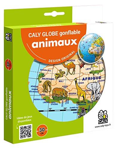 Caly Sarl-057F-Globo Hinchable-Animales-tamaño 30cm
