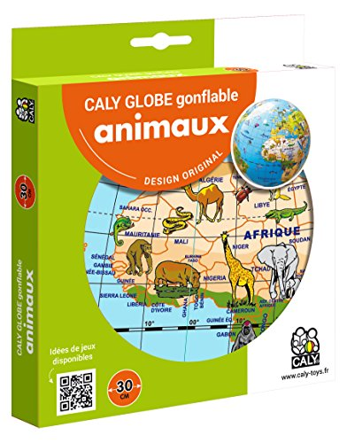 Caly sarl–057f–globo gonfiabile–animali–misura 30cm