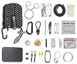 Skaize Outdoor Survival Ausrüstung Kit Überlebensset 23-Teilig