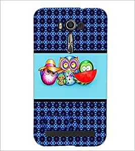 PrintDhaba Quote D-4271 Back Case Cover for ASUS ZENFONE 2 LASER ZE550KL (Multi-Coloured)
